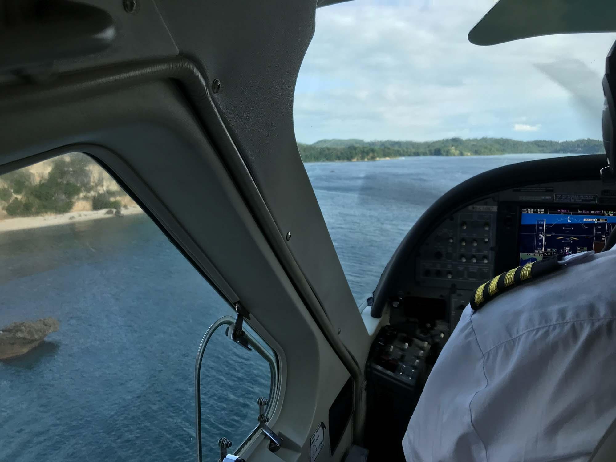 Air Juan Seaplane Inflight