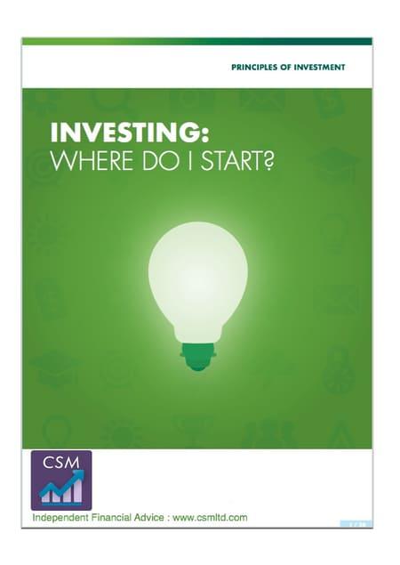 investing-where-do-i-start